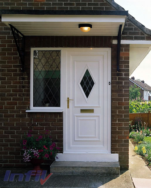 Infil double glazing halstead essex residential doors for Residential entry doors