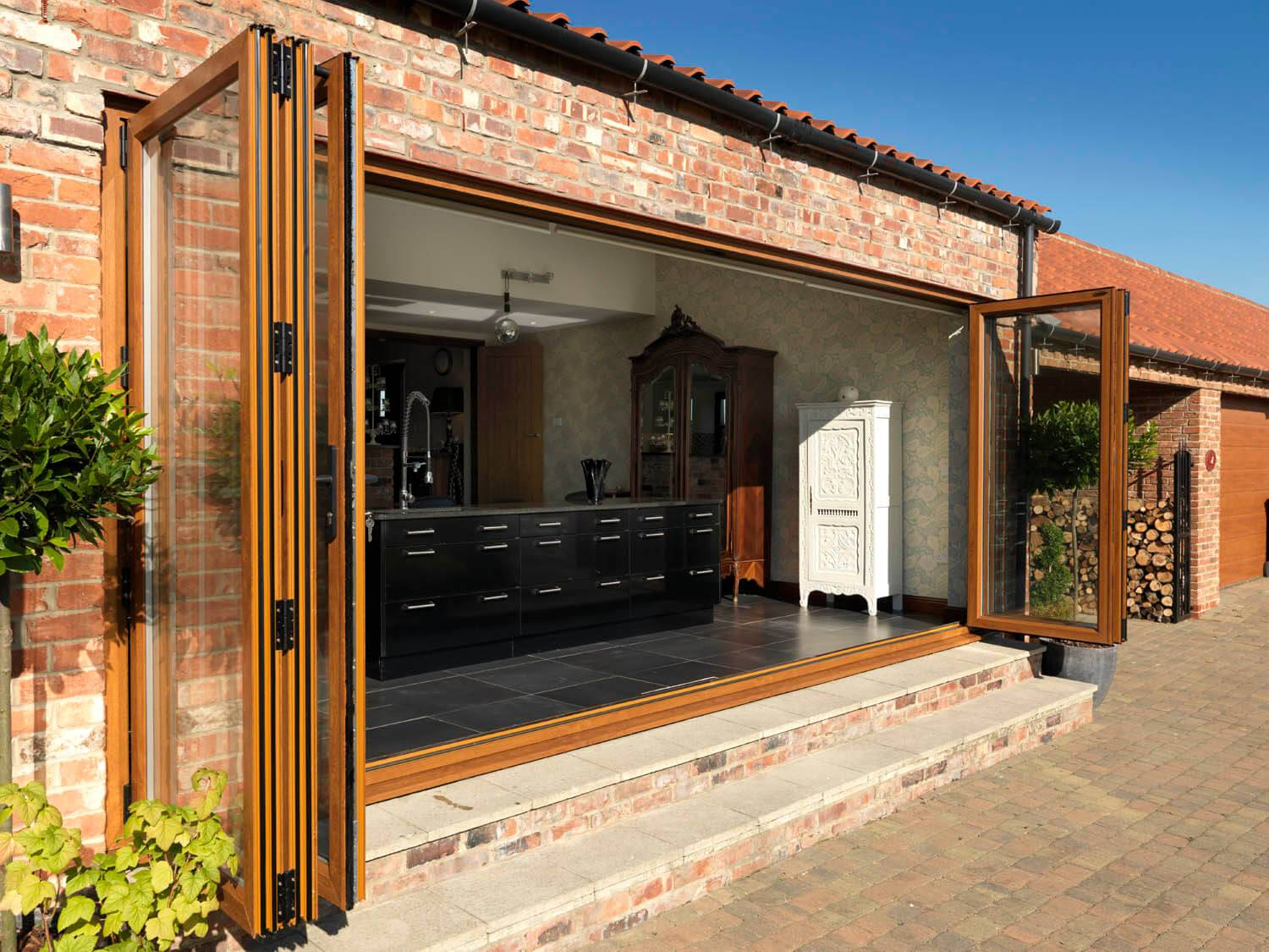 Bifold Doors in Suffolk by Infil